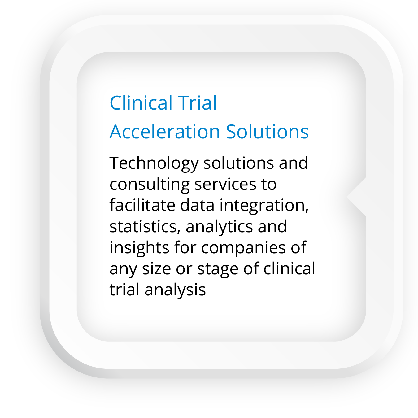 Click here for Clinical Trial Acceleration Solutions