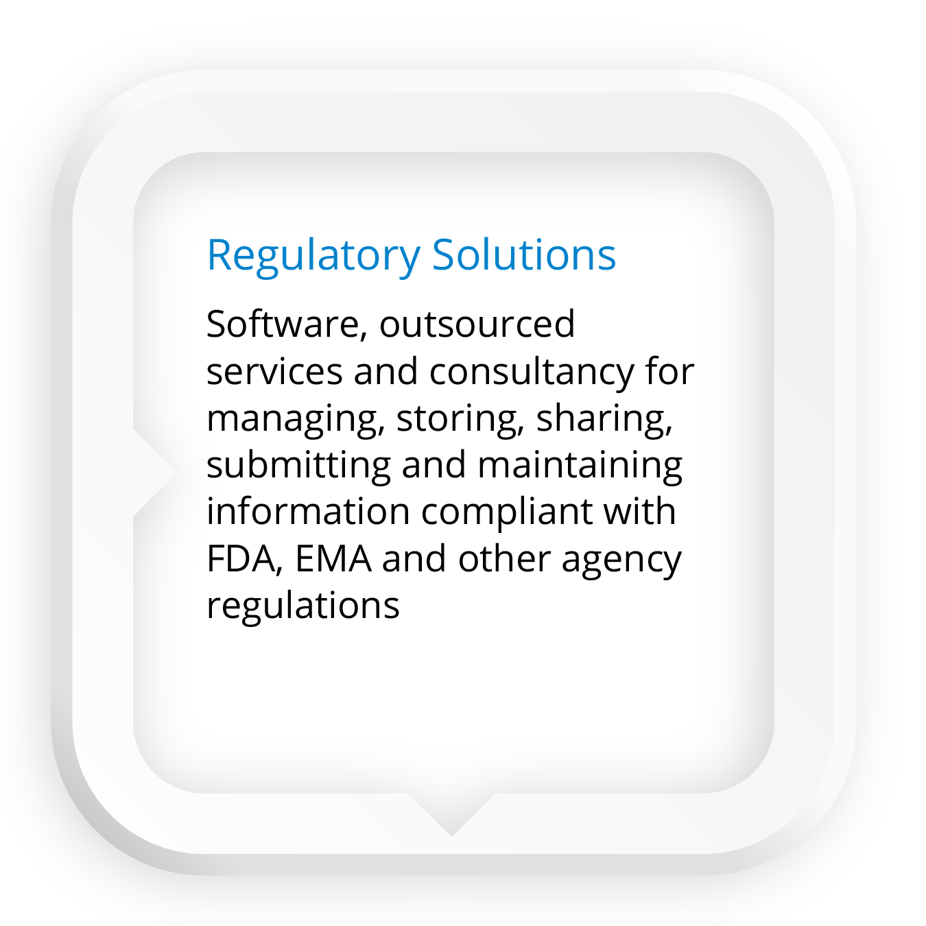 Click here for Regulatory Solutions